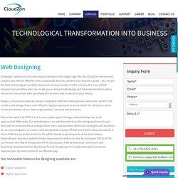 Responsive Website, Custom web, Ecommerce Web - Design Services