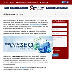 #1 Best SEO Services Company Rockville MD