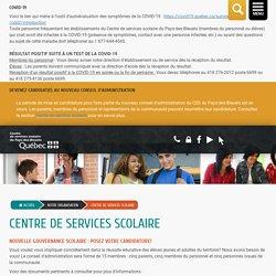 Centre de services scolaire - Commission scolaire du Pays-des-Bleuets