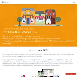 Local SEO Services & Local Search Engine Optimization