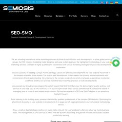 SEO-SMO Services - SEMIOSIS SOFTWARE PRIVATE LIMITED