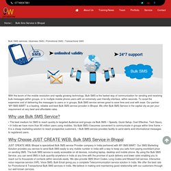 SMS service provider Bhopal