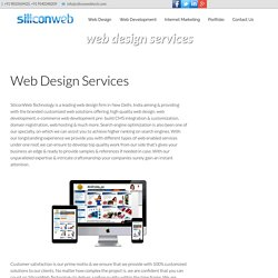 Web Design Services For Small Business - www.siliconwebtech.com