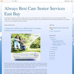 Home care services East bay