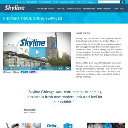 Trade Show Services - Skyline Exhibits Chicago