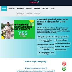 Custom logo design services solution company in Delhi NCR