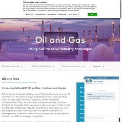Oil and Gas Services and Solutions from Kellton