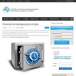 10 services de stockage gratuit en ligne