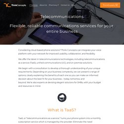 TaaS Services & VoiP Phone System for Business