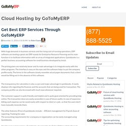 Get Best ERP Services Through GoToMyERP