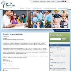 Services - langues, traduction