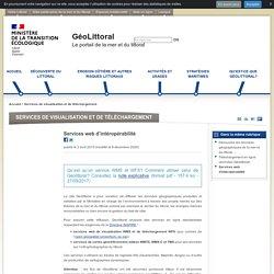 Services web d'intéropérabilité - GéoLittoral
