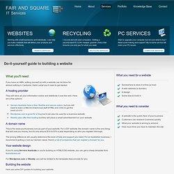 Free DIY websites in Canberra