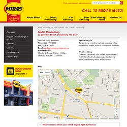 Midas Sevice Centre Dandenong - Car Service, Brake Service, Auto Servicing, Exhaust Suspension