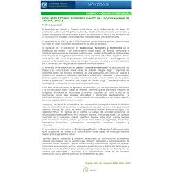 Servicio Social - Carreras - Diseño y Comunicación Visual - UNAM, México