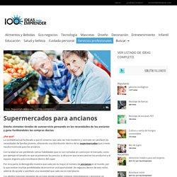 Servicio de ayuda en las compras para los ancianos