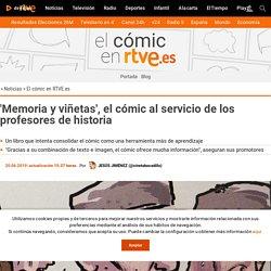 'Memoria y viñetas', el cómic al servicio de los profesores de historia