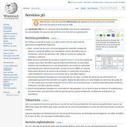 Servicios 3G