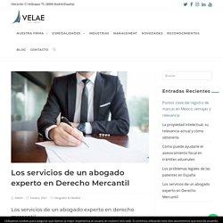 Los servicios de un abogado experto en Derecho Mercantil