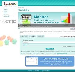 TAW.Test de accesibilidad web