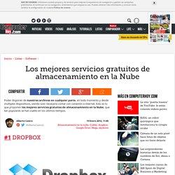 Los mejores servicios gratuitos de almacenamiento en la Nube - ComputerHoy.com