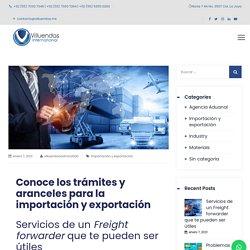 □ □ Servicios de un Freight forwarder que te pueden ser útiles