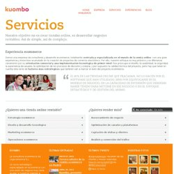 Servicios - Kuombo