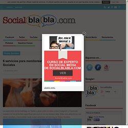 6 servicios para monitorear un hashtag en Redes Sociales