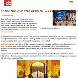 Empresa en organizaciòn de eventos - Doblezero