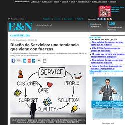 Diseño de Servicios: una tendencia que viene con fuerzas