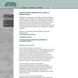 Servicios de traducci n Global Accent - Consejos para la traducci n