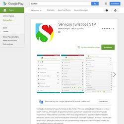 Serviços Turísticos STP – Android-App