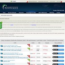 Servidor Dedicado, Servidores Dedicados, Datacenter Brasil promoção <?=price(151)?>