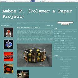 Fimo VS Serviette : LE TUTO ! - Ambre P. (Polymer & Paper Project)