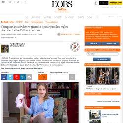 Tampons et serviettes gratuits : pourquoi les règles devraient être l'affaire de tous