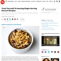 Easy Single Serving Dessert Recipes