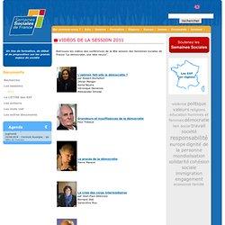 Vidéos session 2011 - Semaines Sociales de France