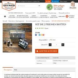 SET DE 2 PRESSES-MOTTES