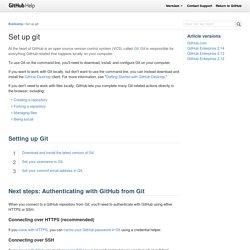 Set Up Git
