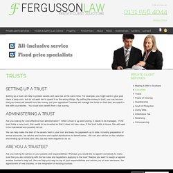 Trust Solicitors in Edinburgh
