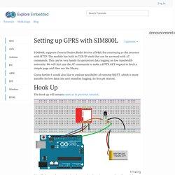 Setting up GPRS with SIM800L - Tutorials