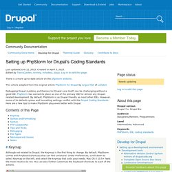 Setting up PhpStorm for Drupal's Coding Standards