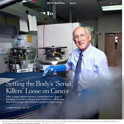 Setting the Body's 'Serial Killers' Loose on Cancer
