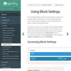 Gantry Documentation