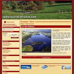 Lac des Settons, Tourisme Nievre, Bourgogne