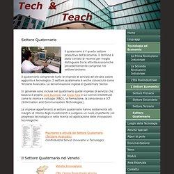 Settore Quaternario - Tech & Teach