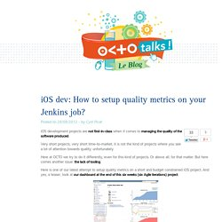 iOS dev: How to setup quality metrics on your Jenkins job?