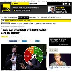 """""""Seuls 12% des auteurs de bande dessinée sont des femmes"""""""