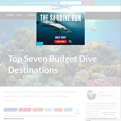 Top Seven Budget Dive Destinations
