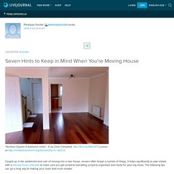 Quick Tips and Recommendations When Moving House